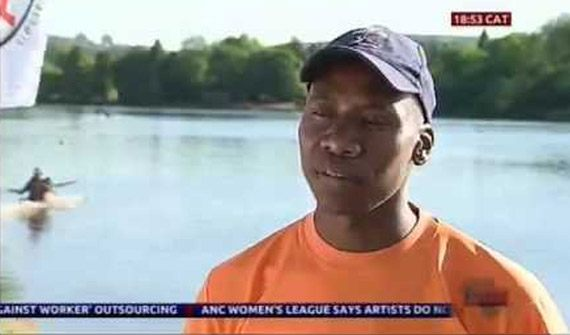 Soweto Youth overcomes the odds; becomes first black South African to receive podium place at country's biggest river race